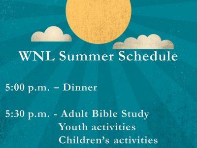 wnl summer schedule
